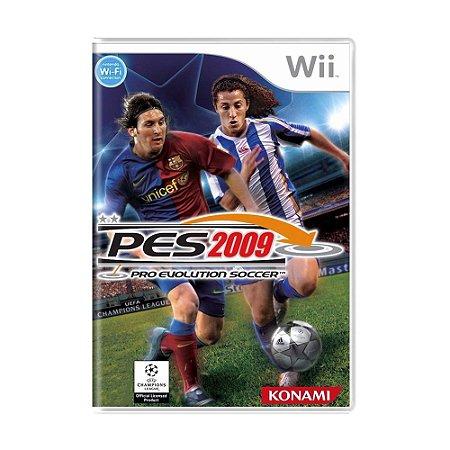 Jogo Pro Evolution Soccer 2009 (PES 09) - Wii