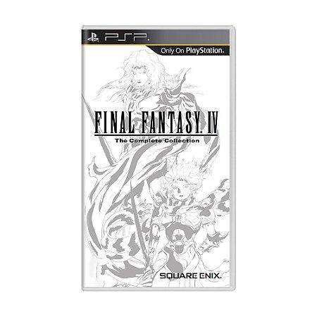 Jogo Final Fantasy IV: The Complete Collection - PSP