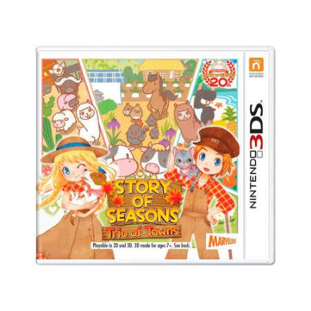 Jogo Story of Seasons: Trio of Towns - 3DS