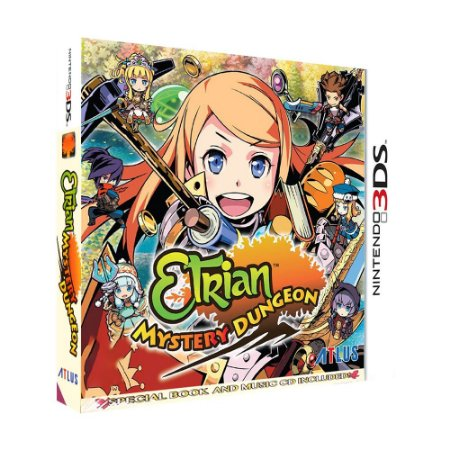 Jogo Etrian Mistery Dungeon (Special Edition) - 3DS