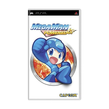 Jogo Mega Man Powered Up - PSP
