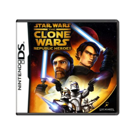 Jogo Star Wars: The Clone Wars – Republic Heroes - DS