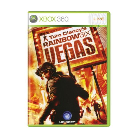 Jogo Tom Clancy's: Rainbow Six Vegas - Xbox 360