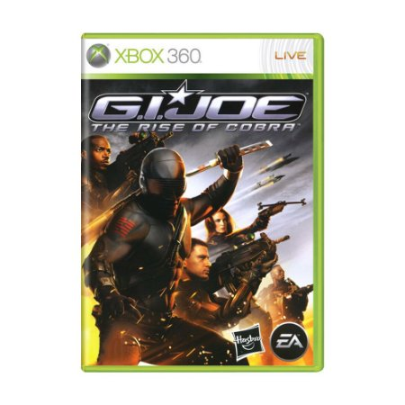 Jogo G.I. Joe: The Rise of Cobra - Xbox 360