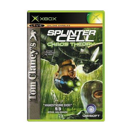 Jogo Tom Clancy's Splinter Cell: Chaos Theory - Xbox