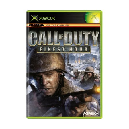 Jogo Call of Duty: Finest Hour - Xbox