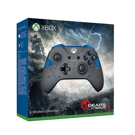 Controle Microsoft sem fio (Versão Limitada Gears of War 4 JD Fenix) - Xbox  One S