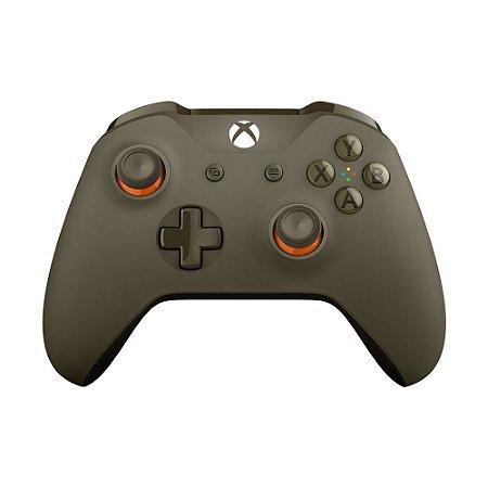 Controle Microsoft Verde Militar - Xbox One S