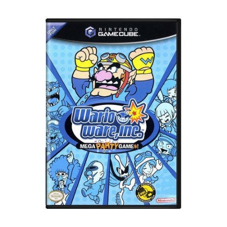 Jogo WarioWare, Inc.: Mega Party Games! - GameCube