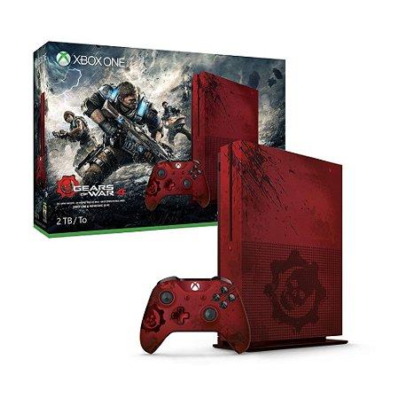Console Xbox One S 2TB (Edição Limitada Gears of War 4) - Microsoft