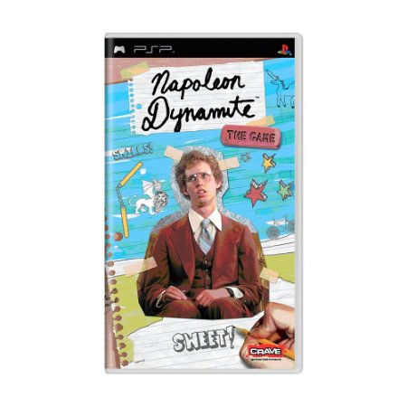 Jogo Napoleon Dynamite: The Game - PSP