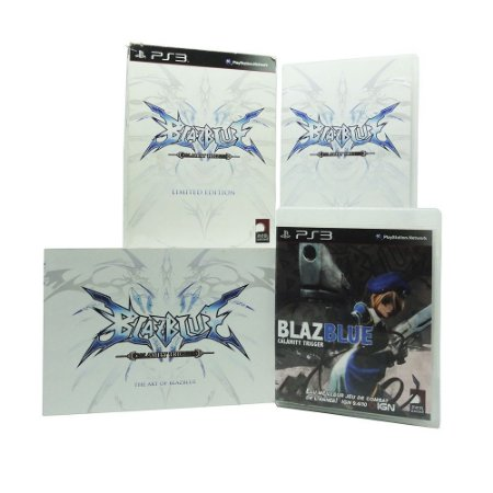 Jogo BlazBlue: Calamity Trigger (Limited Edition) - PS3