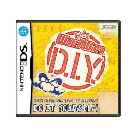 Jogo WarioWare D.I.Y. - DS