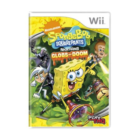 Jogo Spongebob Squarepants: Globs of Doom - Wii
