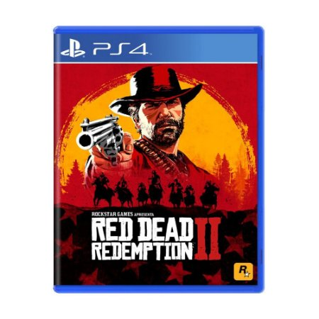 Jogo Red Dead Redemption 2 - PS4