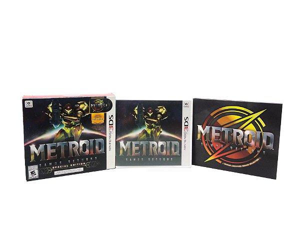 Jogo Metroid: Samus Returns (Special Edition) - 3DS