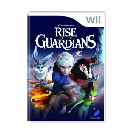 Jogo Rise of the Guardians - Wii