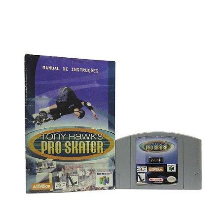 Jogo Tony Hawk's Pro Skater - N64