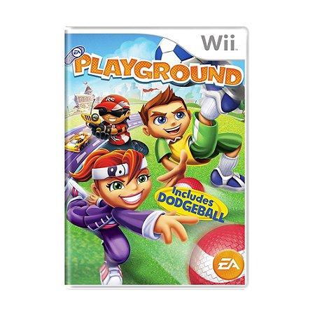 Jogo EA Playground - Wii