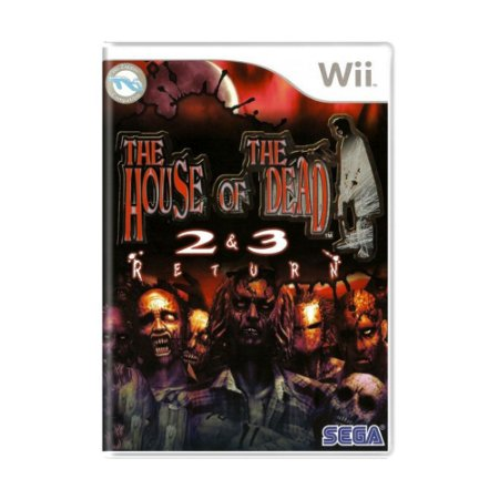 Jogo The House of the Dead 2 & 3 Return - Wii