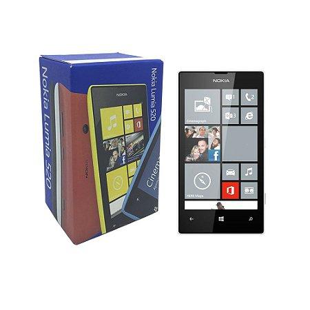 Celular Nokia Lumia 520 8GB Branco - Nokia