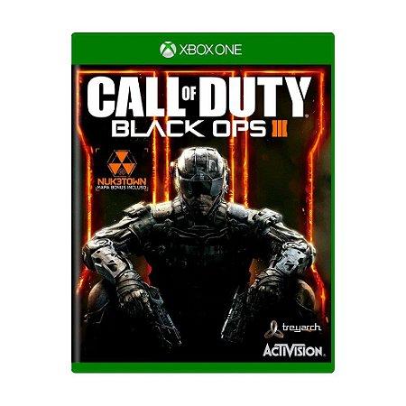 Jogo Call of Duty: Black Ops III - Xbox One