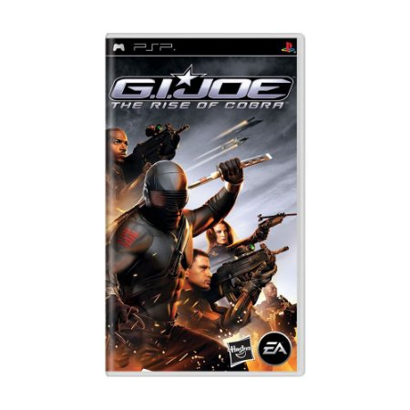 Jogo G.I. Joe: The Rise of Cobra - PSP