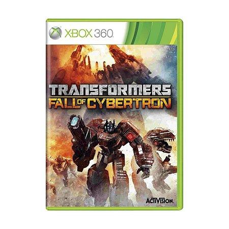 Jogo Transformers: Fall of Cybertron - Xbox 360