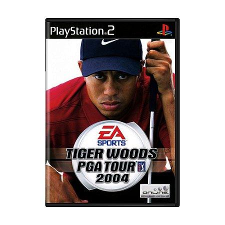 Jogo Tiger Woods PGA Tour 2004 - PS2