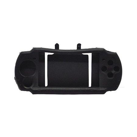 Capa de Silicone Preta para PSP