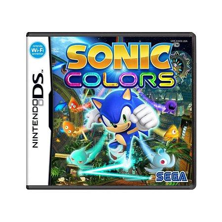 Jogo Sonic Colors - DS