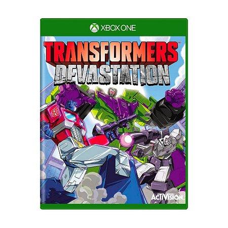 Jogo Transformers: Devastation - Xbox One