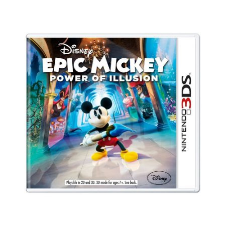 Jogo Epic Mickey: Power of Illusion - 3DS