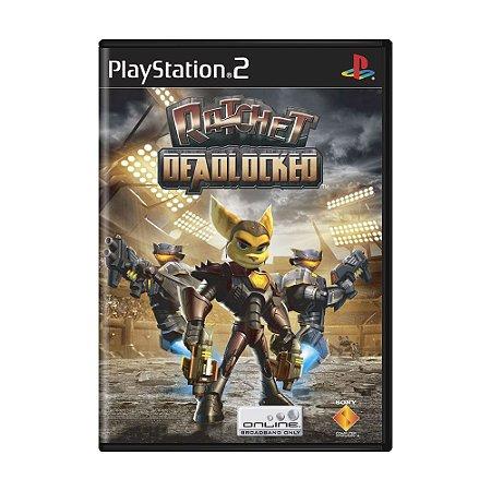 Jogo Ratchet: DeadLockerd - PS2