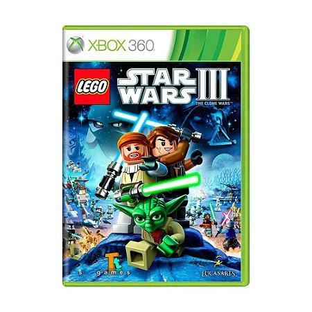 Jogo LEGO Star Wars III: The Clone Wars - Xbox 360