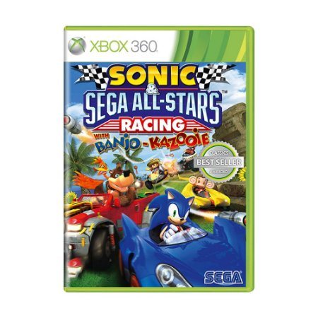Jogo Sonic Sega All-Stars Racing with Banjo-Kazooie - Xbox 360