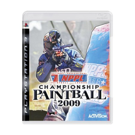 Jogo NPPL Championship Paintball 2009 - PS3