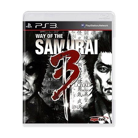 Jogo Way of the Samurai 3 - PS3