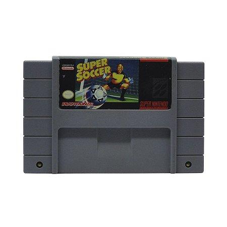 Jogo Super Soccer - SNES