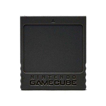 Memory Card Original Preto Nintendo GameCube - GC