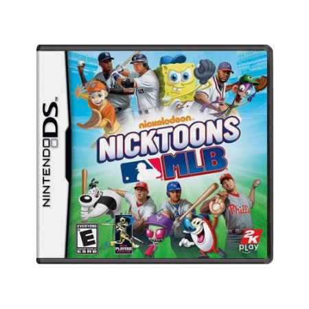 Jogo Nicktoons MLB - DS