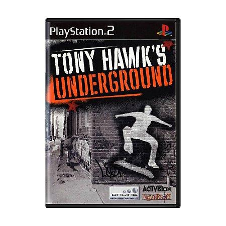 Jogo Tony Hawk's Underground - PS2