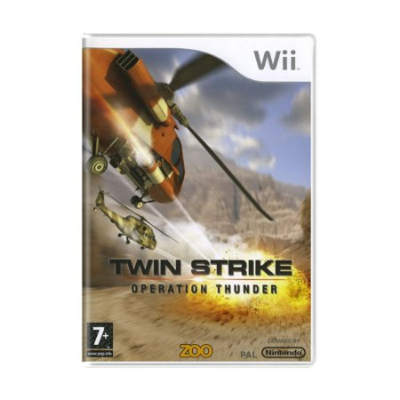 Jogo Twin Strike: Operation Thunder - Wii