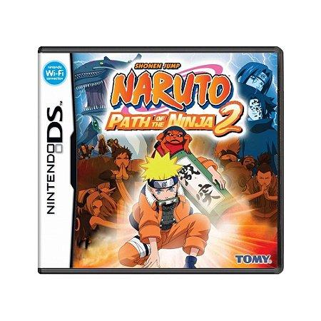Jogo Naruto: Path of the Ninja 2 - DS