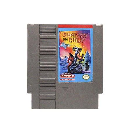 Jogo Shadow of the Ninja - NES