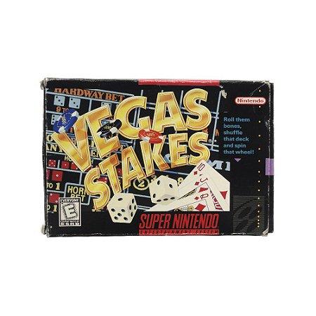 Jogo Vegas Stakes - SNES