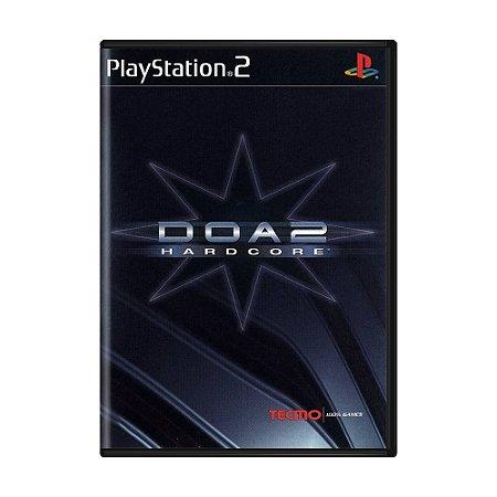 Jogo DOA 2: Hardcore - PS2