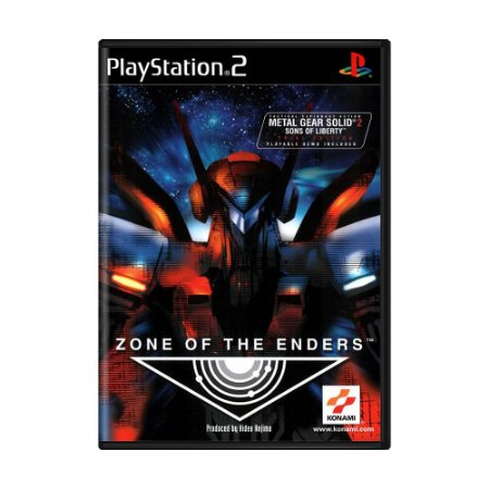Jogo Zone of the Enders - PS2