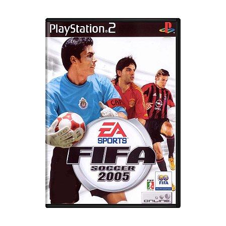 Jogo Fifa Soccer 2005 - PS2