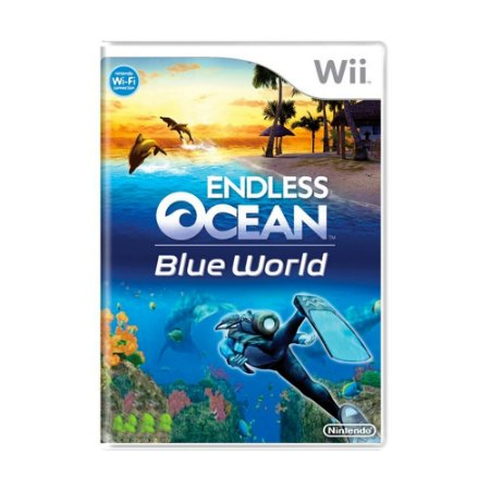 Jogo Endless Ocean: Blue World + Wii Speak - Wii